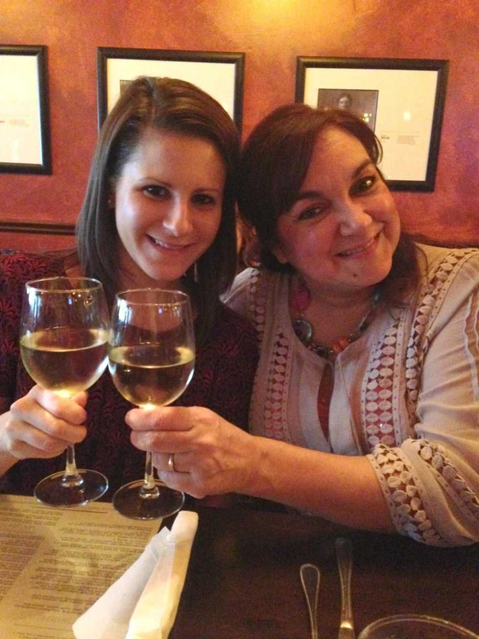 Katie and Isabel