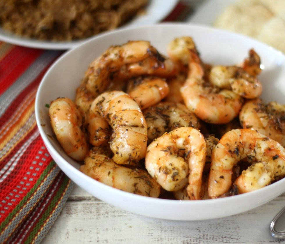 Baked Blackened Shrimp