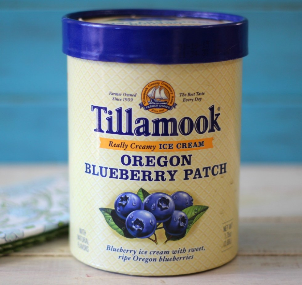 Tillamook Oregon Blueberry Patch Ice Cream