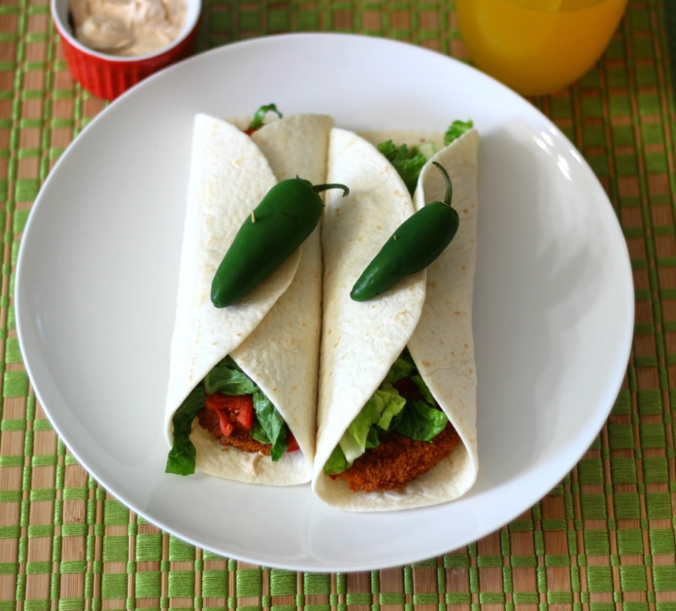 Buffalo Chik Wrap