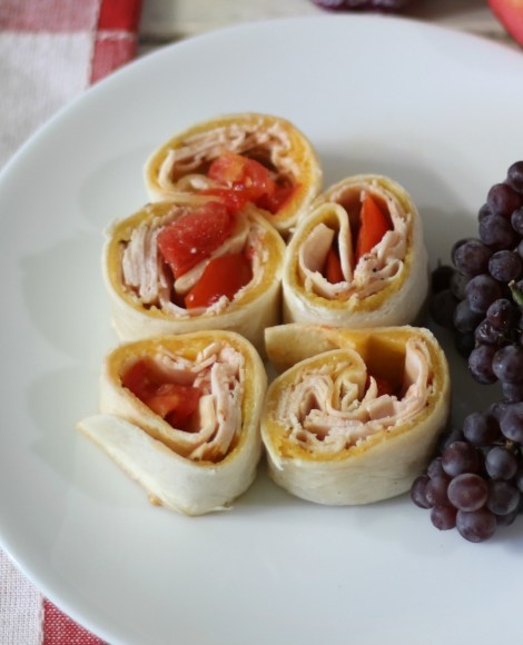 Turkey Pinwheels #SundaySupper