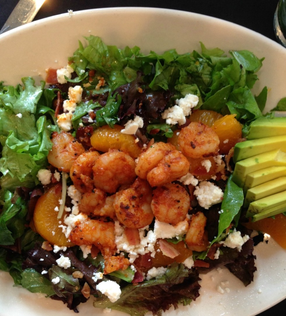 Bistro Byronz Blackened Shrimp Salad