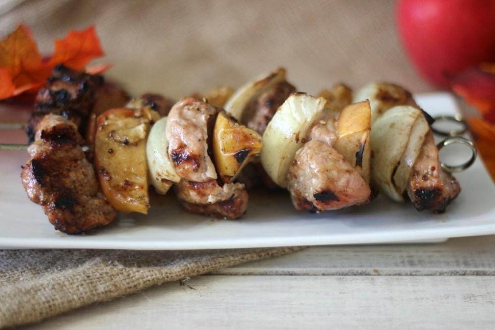 Pork and Apple Shish Kabob