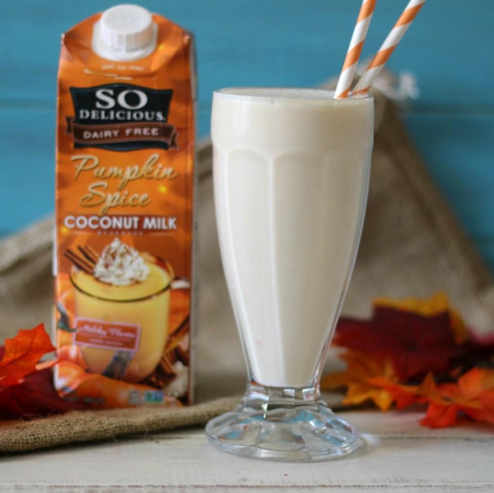 Pumpkin Spice Milkshake (Dairy-Free)