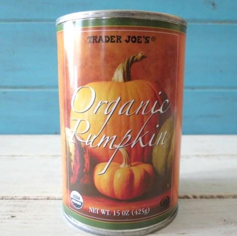 Trader Joes Organic Pumpkin