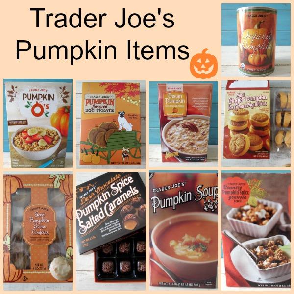 Trader Joe's Pumpkin Items