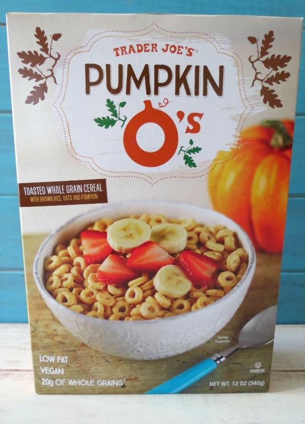 Trader Joes Pumpkin O's
