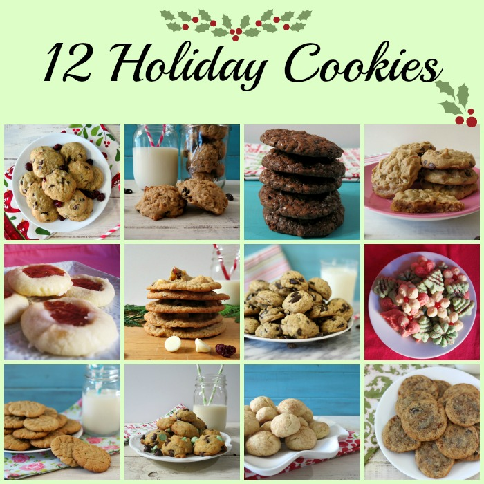 12 Holiday Cookies
