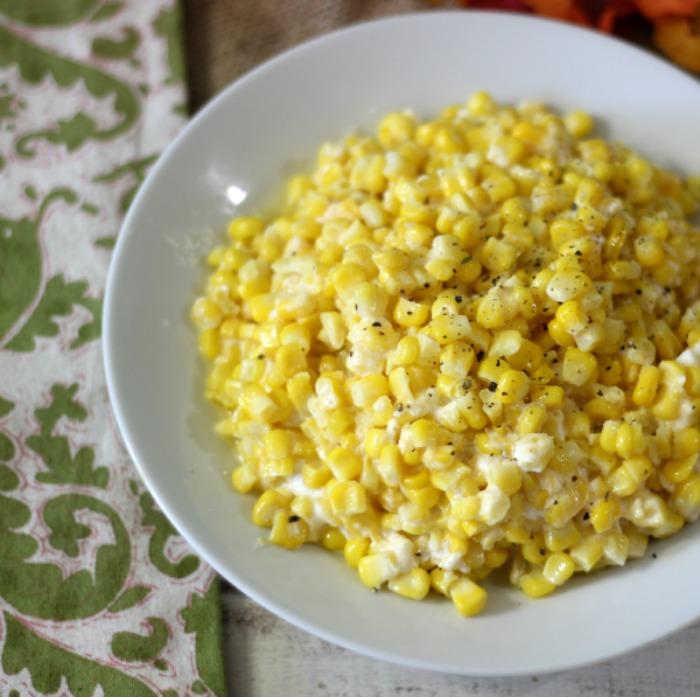 Cheesy Baked Corn