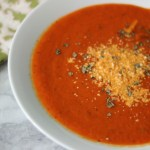 Roasted Red Pepper Tomato Soup