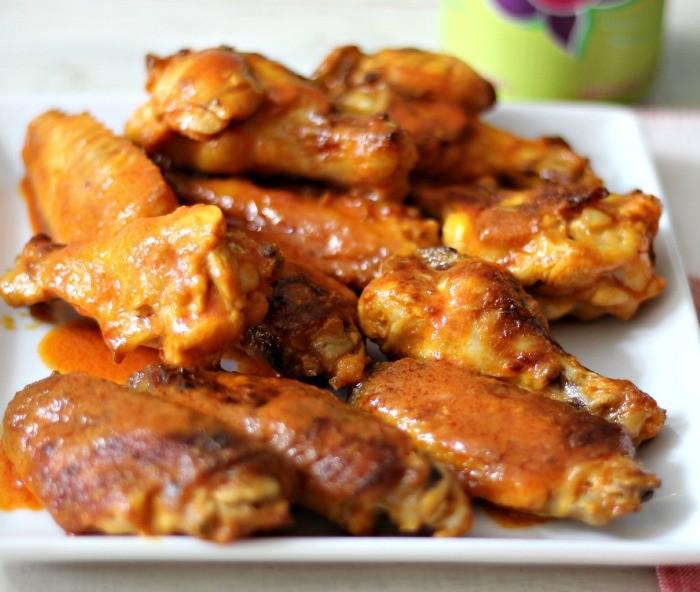 Baked Buffalo Chicken Wings #SundaySupper