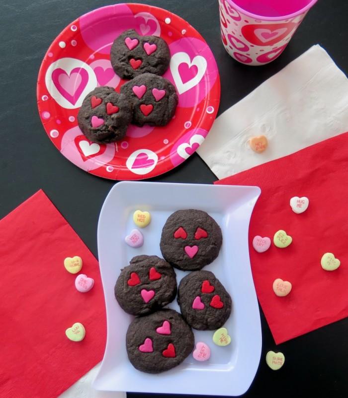 Chocolate Valentine Sandies