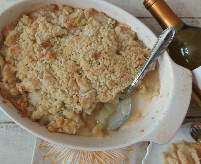Mom's Apple Crisp #SundaySupper