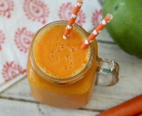 Mango Carrot Smoothie