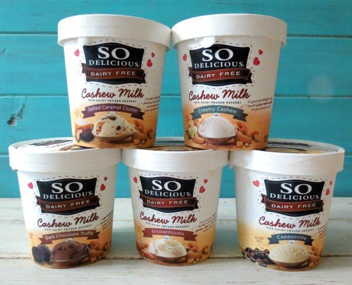 So Delicious Dairy Free Cashew Milk Ice Cream