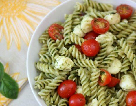 Pesto Pasta Salad #SundaySupper
