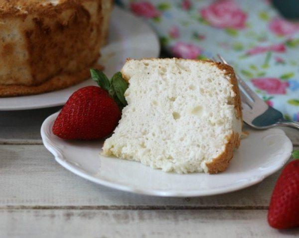 Alton Brown's Angel Food Cake
