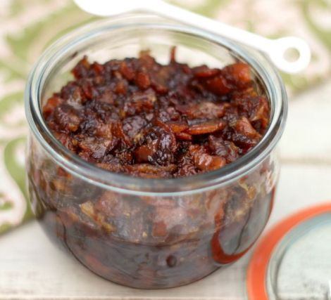 Bourbon Bacon Jam | Peanut Butter and Peppers