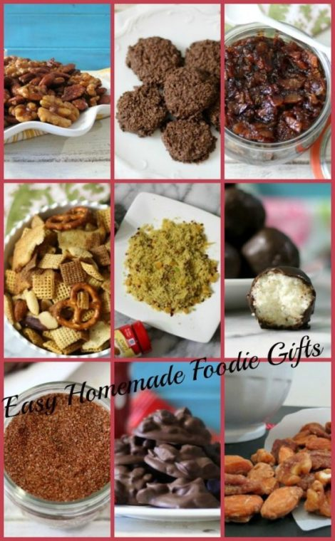 Easy Homemade Foodie Gifts