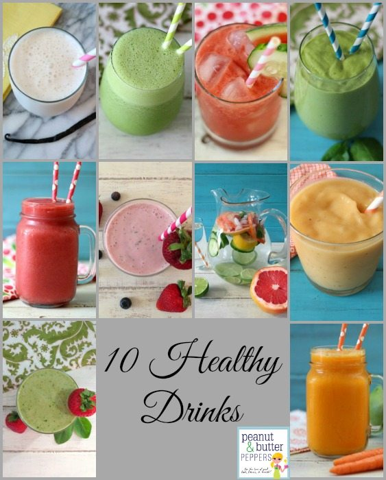10 Healthy Drinks for 2016