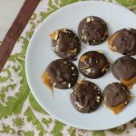 Dark Chocolate Caramel Turtles