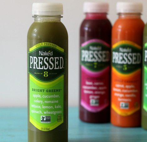 Naked Cold Pressed Juice Bright Greens