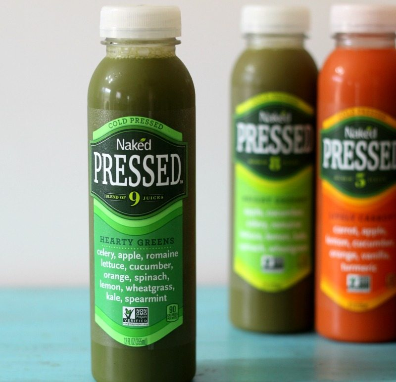 Naked Cold Pressed Juice Hearty Greens