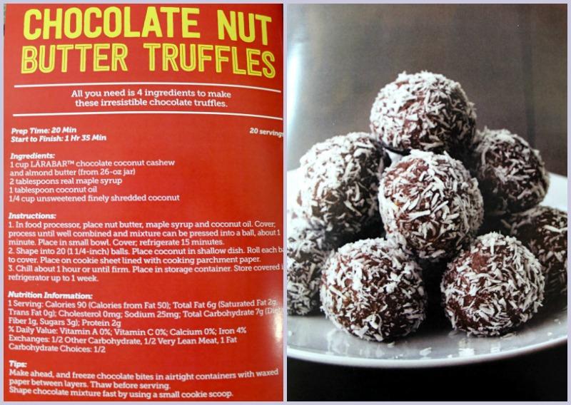 Chocolate Nut Butter Truffles #LaraNutButter #Larabar