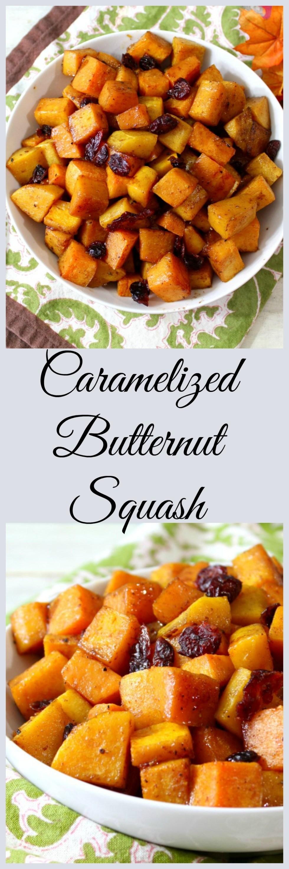 cCaramelized Butternut Squash