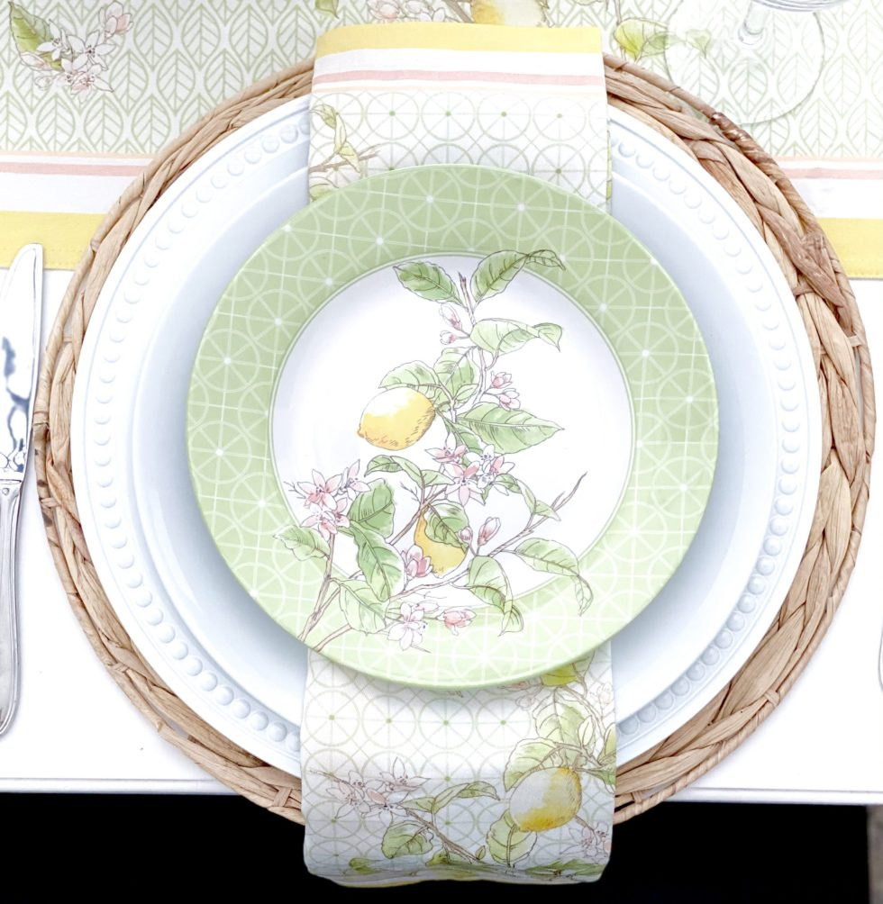 Spring to Summer Tablescape