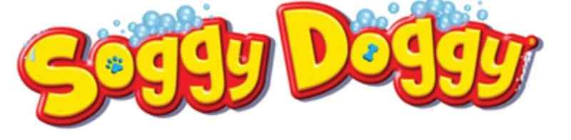 Soggy doggy logo from spin master games