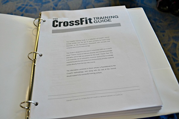 CrossFit Level 1 Trainer Course: My Experience - Peanut Butter Runner