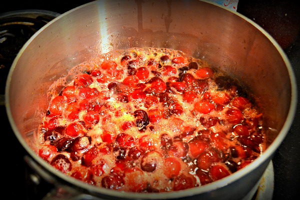 Orange Ginger Cranberry Sauce