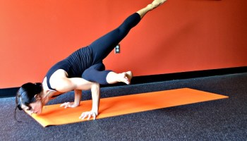 crane yoga pose variations  modern life