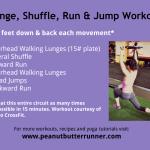 Lunge, Shuffle, Run & Jump Workout