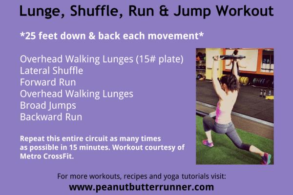 Lunge Burn Workout