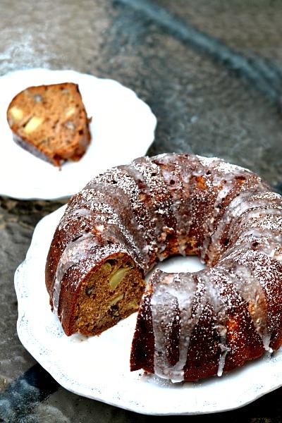 Maple Apple Spice Bundt Cake Recipe