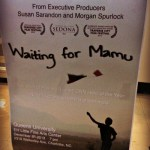 Waiting for Mamu + Supporting a CNN Hero of the Year