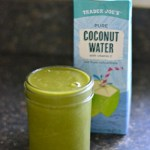 Green Smoothie Challenge: Week 3 + Banana-less Coconut Water Green Smoothie