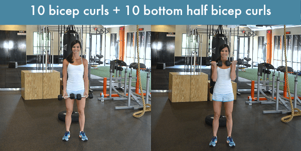 Sculpted Summer Arms Dumbbell Workout
