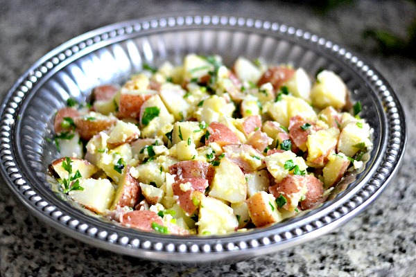 Lemon Feta Potato Salad