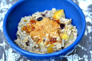 Cranberry Apple Cinnamon Oatmeal