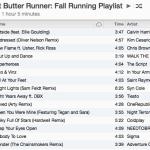 Fall Running Playlist