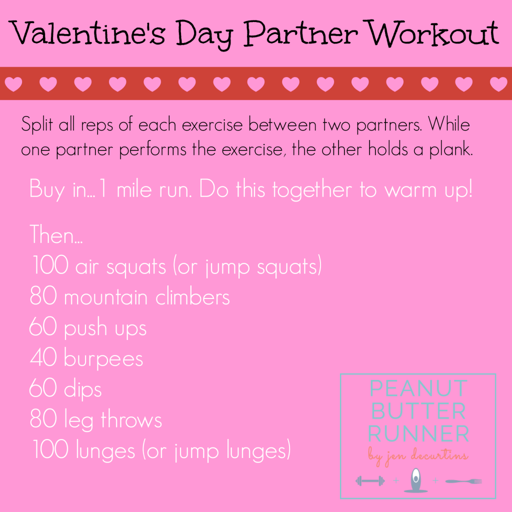 Valentine S Day Workout Recipe Inspiration