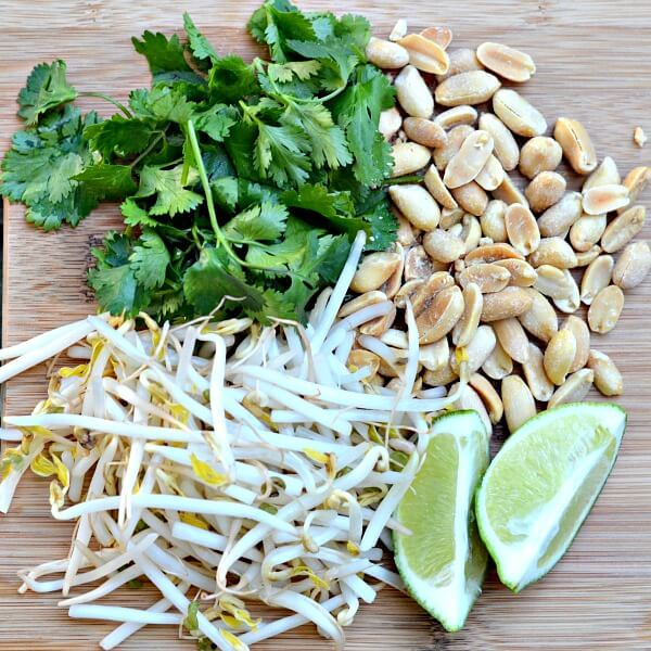 Pad Thai Toppings