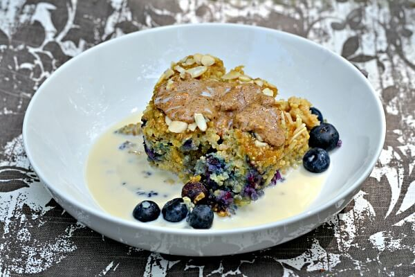 Quinoa Breakfast Bake with Soymilk