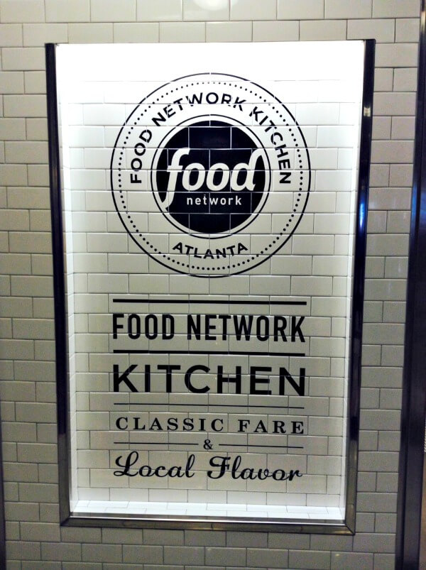 Food Network Kitchen Atlanta Airport Menu