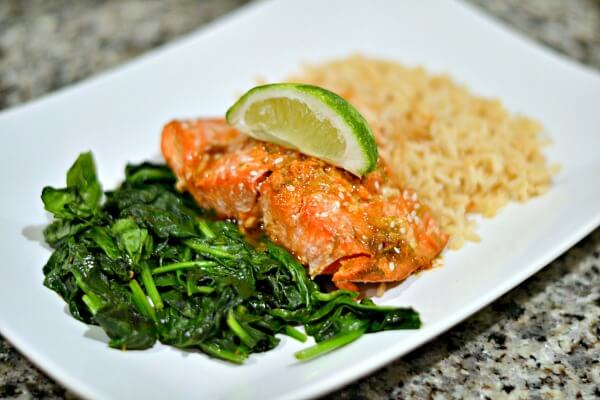 maple sriracha salmon