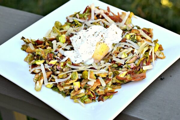 Warm Brussels Sprout Salad 2