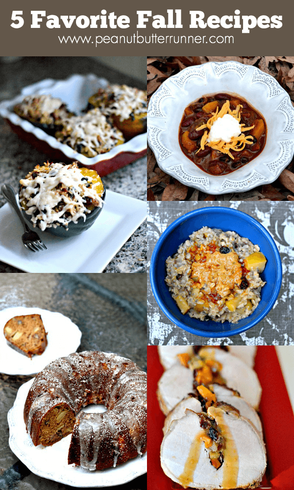 5 Favorite Fall Recipes